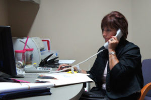 Our Wonderful Office Manager Beckie